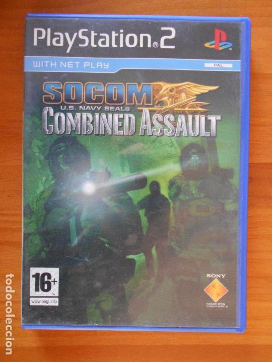 PS2 SOCOM U S  NAVY SEALS COMBINED ASSAULT - PAL - EN ALEMAN - PLAYSTATION  2 (AE)