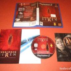 Videojuegos y Consolas: FORBIDDEN SIREN ( VIVIENDO LA PESADILLA ) - PS2 - SCES 52330 - SONY - INCLUYE POSTAL O FOTOGRAFIA. Lote 130684384