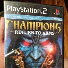 Videojuegos y Consolas: JUEGO PS2 CHAMPIONS RETURN TO ARMS . Lote 130802968