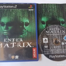 Videojuegos y Consolas: ENTER THE MATRIX PS2 PLAYSTATION 2. Lote 131075395