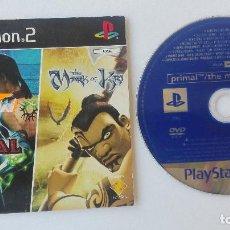Videojuegos y Consolas: PLAYSTATION 2 PRIMAL THE MARK OF KRI DEMO. Lote 131295407