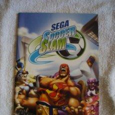 Videojuegos y Consolas: SEGA SOCCER SLAM MANUAL DE INSTRUCCIONES PS2 SONY PLAYSTATION. Lote 131435570