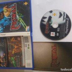 Videojuegos y Consolas: PRIMAL PS2 PLAYSTATION 2 COMPLETO PAL-ESPAÑA. Lote 132031974