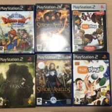 Videojuegos y Consolas: PACK VIDEOJUEGOS PS2. Lote 132133038