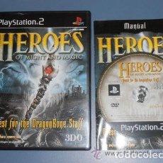 Videojuegos y Consolas: JUEGO PLAY 2 HEROES OF MIGHT AND MAGIC. Lote 132617354
