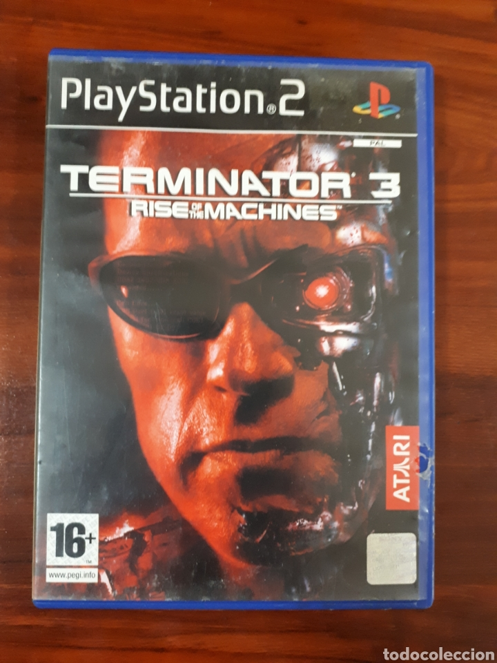 TERMINATOR 3 - RISE OF THE MACHINES - SONY PLAYSTATION 2 - PS2 - PAL (Juguetes - Videojuegos y Consolas - Sony - PS2)