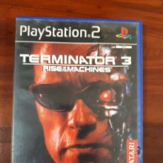 Videojuegos y Consolas: TERMINATOR 3 - RISE OF THE MACHINES - SONY PLAYSTATION 2 - PS2 - PAL. Lote 79128697