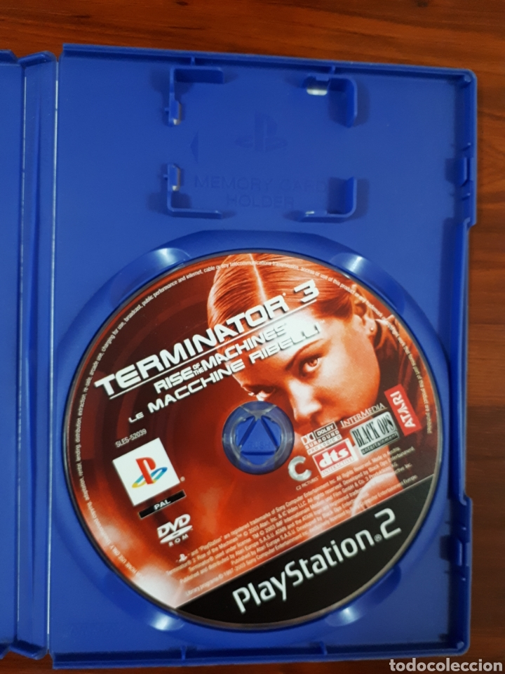 Videojuegos y Consolas: TERMINATOR 3 - RISE OF THE MACHINES - SONY PLAYSTATION 2 - PS2 - PAL - Foto 3 - 79128697