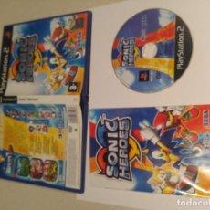 Videojuegos y Consolas: SONIC HEROES PAL-ESPAÑA COMPLETO PS2 PLAYSTATION 2. Lote 132941226