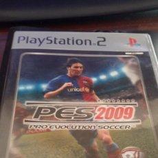 Videojuegos y Consolas: JUEGO PES 2009 - PLASYSTATION 2. Lote 132988150