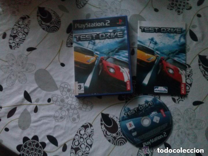 JUEGO PLAY 2 TEST DRIVE (Juguetes - Videojuegos y Consolas - Sony - PS2)