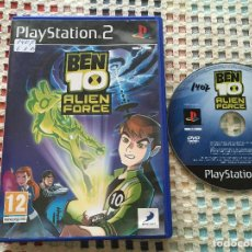 Videojuegos y Consolas: BEN 10 ALIEN FORCE PS2 PLAYSTATION 2 PLAY STATION TWO KREATEN. Lote 133640810