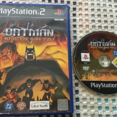Videojuegos y Consolas: BATMAN RISE OF SIN TZU PS2 PLAYSTATION 2 PLAY STATION TWO KREATEN. Lote 133642554