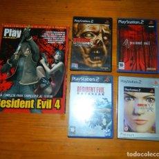Videojuegos y Consolas: RESIDENT EVIL LOTE JUEGOS MÁS GUIA PLAY 2. Lote 133687222