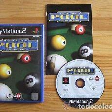 Videojuegos y Consolas: JUEGO PLAY 2 INTERNATIONAL POOL. Lote 133712218