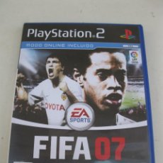 Videojuegos y Consolas: FIFA 07 - JUEGO PARA PLAYSTATION 2.. Lote 133726598