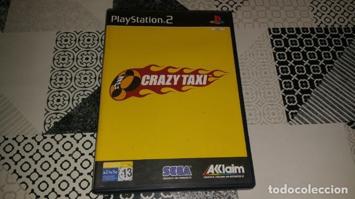 CRAZY TAXI PS2 PAL ESPAÑA COMPLETO SEGA AKLAIM (Juguetes - Videojuegos y Consolas - Sony - PS2)