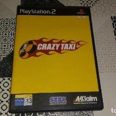 Videojuegos y Consolas: CRAZY TAXI PS2 PAL ESPAÑA COMPLETO SEGA AKLAIM. Lote 133737182