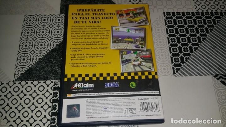 Videojuegos y Consolas: CRAZY TAXI PS2 PAL ESPAÑA COMPLETO SEGA AKLAIM - Foto 2 - 133737182