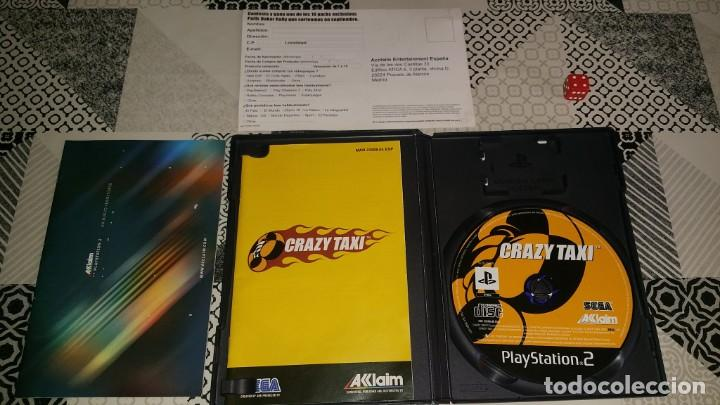 Videojuegos y Consolas: CRAZY TAXI PS2 PAL ESPAÑA COMPLETO SEGA AKLAIM - Foto 3 - 133737182