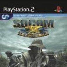 Videojuegos y Consolas: JUEGO PLAY 2 SOCOM II US NAVY SEALS. Lote 133806262