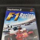 Videojuegos y Consolas: VIDEOJUEGO JUEGO SONY PS2 PLAYSTATION 2 - F1 RACING CHAMPIONSHIP - CAR108. Lote 133879302