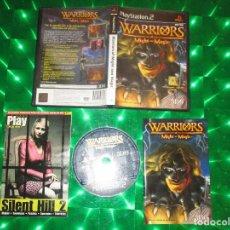 Videojuegos y Consolas: WARRIORS OF MIGHT AND MAGIC - PS2 - SLES 50187 -DE LA PERDICION A LA SALVACION SOLO UNO SE ALZARA.... Lote 134226246