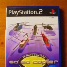 Videojuegos y Consolas: GO GO COPTER REMOTE CONTROL HELICOPTER (PLAYSTATION 2). Lote 134385390