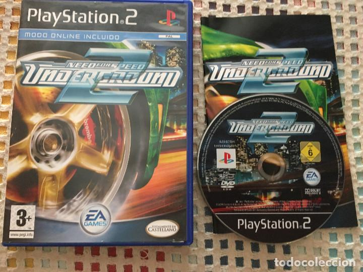 Need For Speed Underground 2 Nfs Ps2 Playstatio Buy Video Games