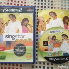 Videojuegos y Consolas: SINGSTAR POP SING STAR PS2 PLAYSTATION TWO PLAY STATION 2 KREATEN. Lote 135157638