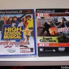 Videojuegos y Consolas: PLAY STATION 2. HIGH SCHOOL MUSICAL (PRECINTADO). 10 DEMOS JUGABLES VER TÍTULOS. Lote 135173685