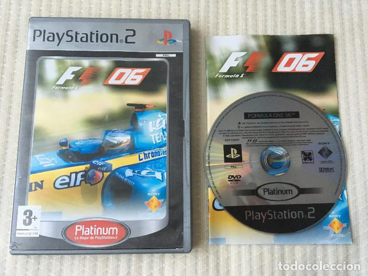 FORMULA 1 06 F1 PS2 PLAYSTATION 2 PLAY STATION TWO kreaten