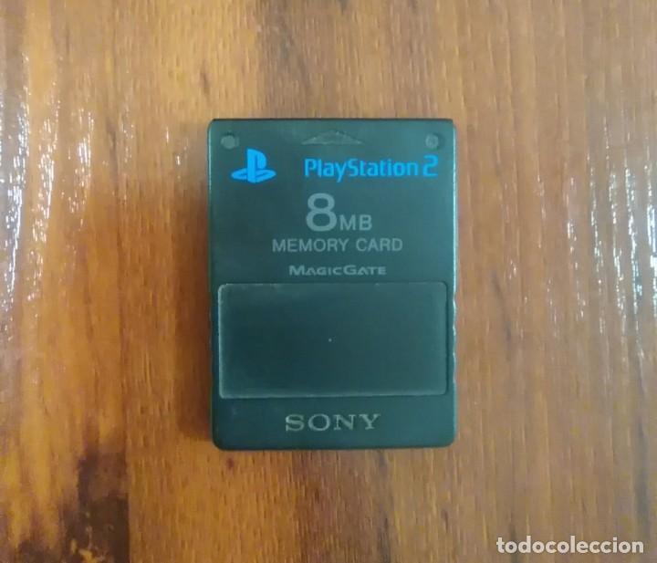 MEMORY CARD - SONY PLAYSTATION 2 - PS2 - 8 MB - MAGIC GATE - BUEN ESTADO (Juguetes - Videojuegos y Consolas - Sony - PS2)