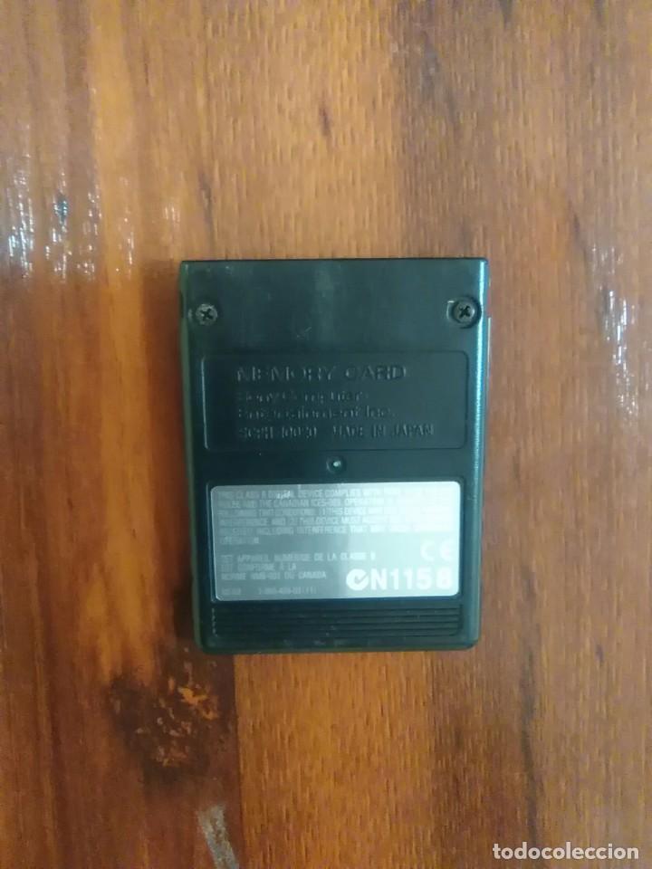 Videojuegos y Consolas: MEMORY CARD - SONY PLAYSTATION 2 - PS2 - 8 MB - MAGIC GATE - BUEN ESTADO - Foto 2 - 135940558