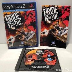 Videojuegos y Consolas: 187 RIDE OF DIE PLAYSTATION 2 PS2. Lote 136094274