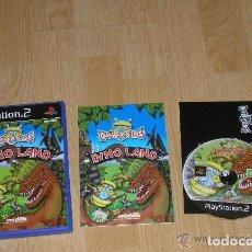 Videojuegos y Consolas: JUEGO PLAY 2 DINO LAND. Lote 136354530