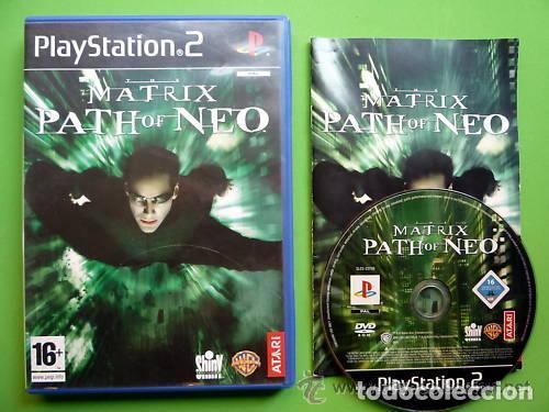 JUEGO PLAY 2 MATRIX PATH OF NEO (Juguetes - Videojuegos y Consolas - Sony - PS2)
