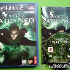 Videojuegos y Consolas: JUEGO PLAY 2 MATRIX PATH OF NEO. Lote 136354846
