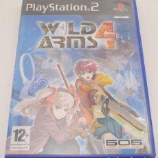 Videojuegos y Consolas: WILD ARMS 4 PS2. Lote 136396250