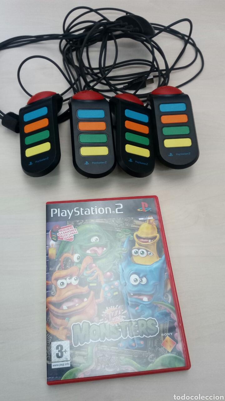 JUEGO PLAY 2 +MANDOS (Juguetes - Videojuegos y Consolas - Sony - PS2)