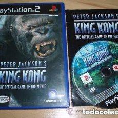 Videojuegos y Consolas: JUEGO PLAY 2 KING KONG. Lote 137704402