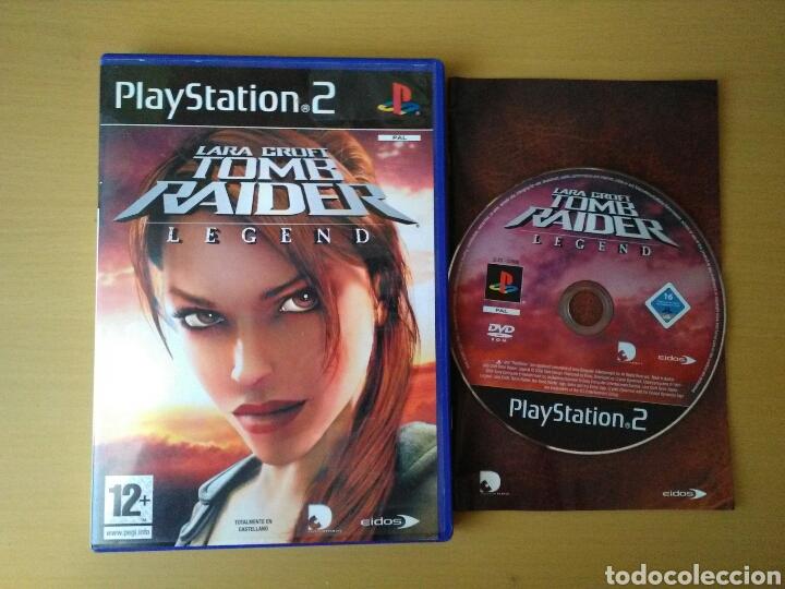 Juego Playstation 2 Lara Croft Tomb Raider Lege Buy Video Games
