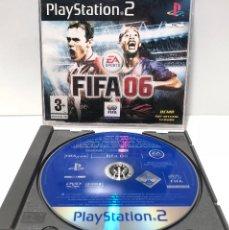 Videojuegos y Consolas: FIFA 06 DISCO PROMOCIONAL PLAYSTATION 2 PS2. Lote 137893326