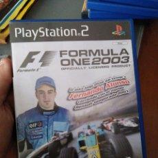 Videojuegos y Consolas: JUEGO DE PS2 FORMULA ONE 2003 FERNANDO ALONSO. Lote 137983242