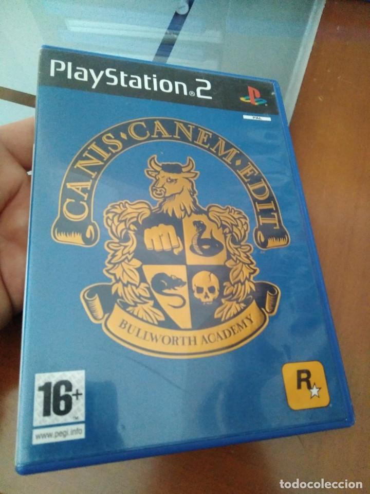 JUEGO DE PS2 BULLWORTH ACADEMY (Juguetes - Videojuegos y Consolas - Sony - PS2)