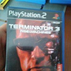 Videojuegos y Consolas: JUEGO DE PS2 TERMINATOR 3 . Lote 137985050