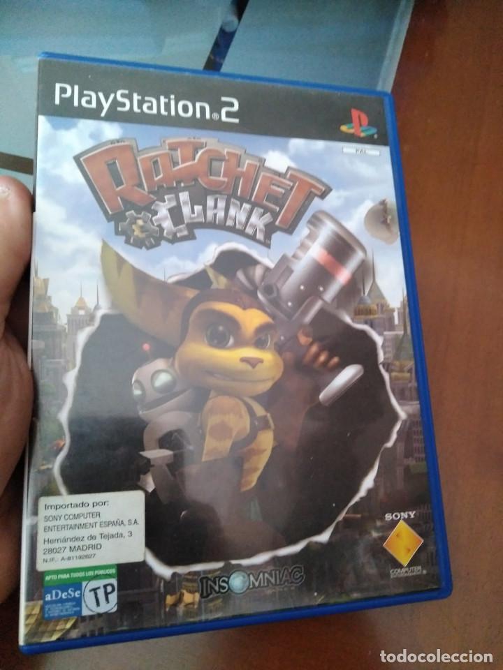 JUEGO DE PS2 RATCHET & CLANK (Juguetes - Videojuegos y Consolas - Sony - PS2)