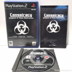 Videojuegos y Consolas: CONSPIRACY: WEAPONS OF MASS DESTRUCTION PLAYSTATION 2 PS2. Lote 138032690