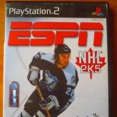 Videojuegos y Consolas: ESPN NHL 2K5 (NTSC) (PLAYTATION 2). Lote 138560750