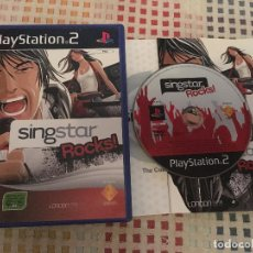 Videojuegos y Consolas: SINGSTAR ROCKS! SING STAR ROCK PS2 PLAYSTATION TWO PLAY STATION 2 KREATEN. Lote 139118518